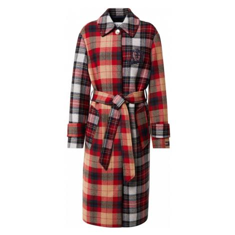 TOMMY HILFIGER Prechodný kabát  zmiešané farby / červená