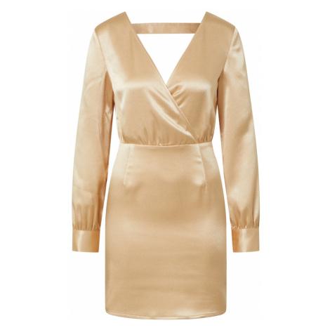 IVYREVEL Šaty  zlatá