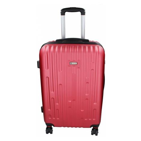 Cestovný kufor Airtex Worldline Kuga M - tmavo červená