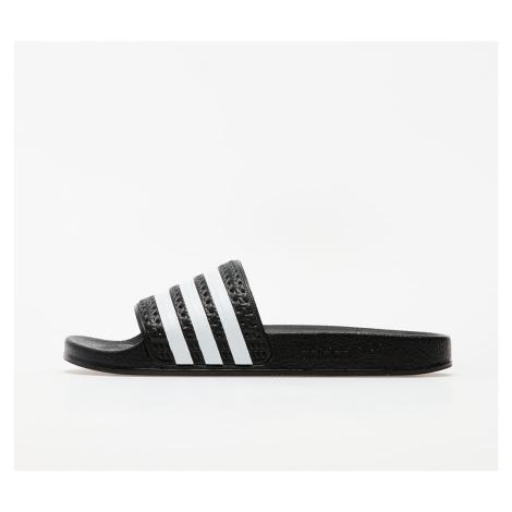 adidas Adilette Black/ White/ Black