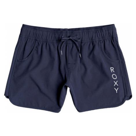 Roxy CLASSICS 5 INCH BS tmavo modrá - Dámske šortky do vody