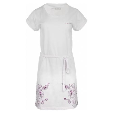 Alpine Pro Lada dámske šaty biele