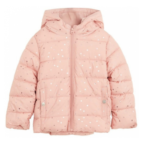 MANGO KIDS Kabát  ružová