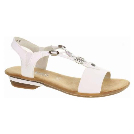 Dámské sandály Rieker 63453-80 weiss 63453-80