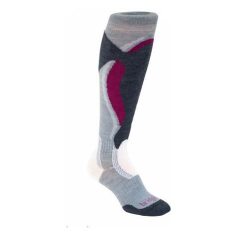 Ponožky Bridgedale Control Fit Midweight Women's 912 stone / gunmetal