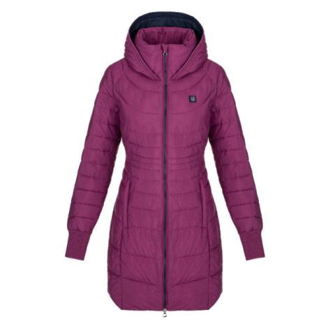 Loap JEKIE ružová - Dámsky zimný kabát