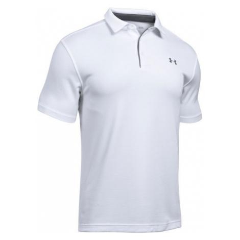 Under Armour TECH POLO biela - Pánske tričko Polo
