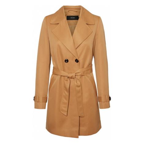 Vero Moda Dámsky kabát VMBERTA 3/4 JACKET COL Tobacco Brown