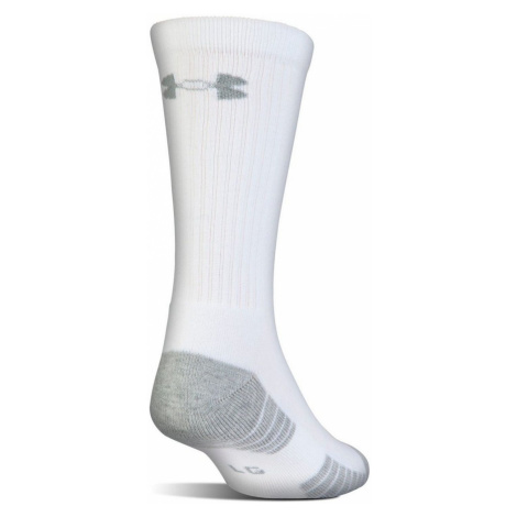 Ponožky UNDER ARMOUR HeatGear Tech Crew 3-Pack White Biela