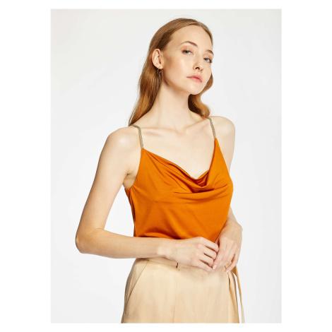 Dámske tričko Pietro Filipi oranžová