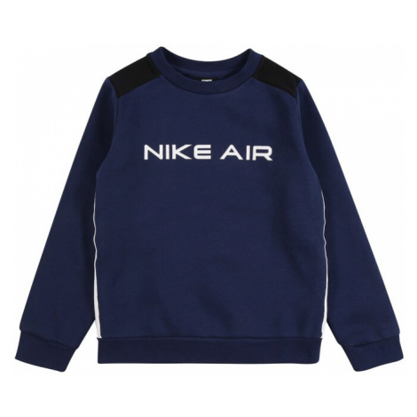 Nike Sportswear Mikina  tmavomodrá / čierna / námornícka modrá / biela