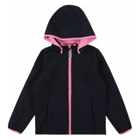 NAME IT Prechodná bunda 'MALTA'  zafírová / ružová