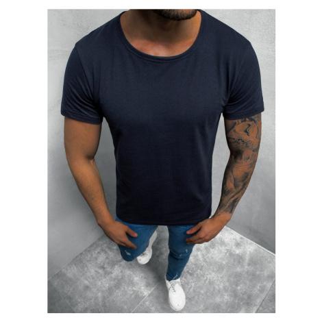 Granátové jednoduché tričko O/1208Z BREEZY