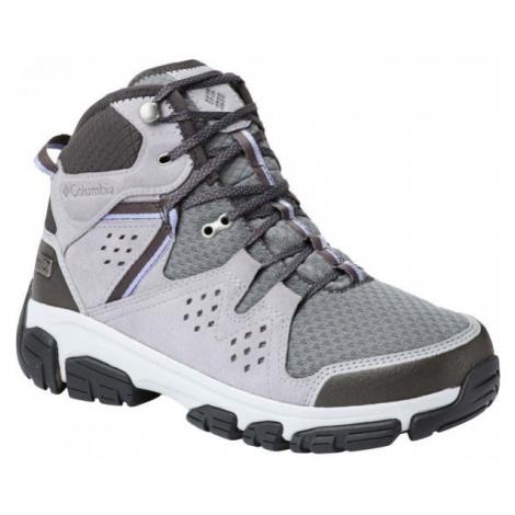 Columbia ISOTERRA MID OUTDRY šedá - Dámska športová obuv