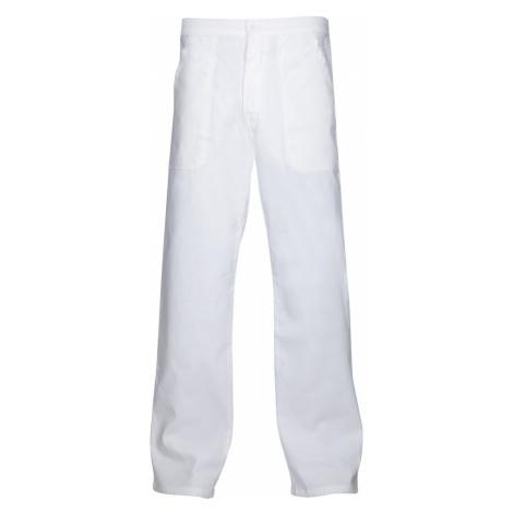 Ardon Pánske biele pracovné nohavice