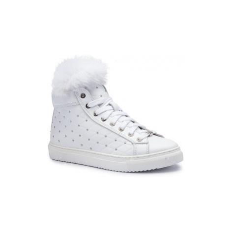 Eva Minge Sneakersy EM-08-06-000281 Biela