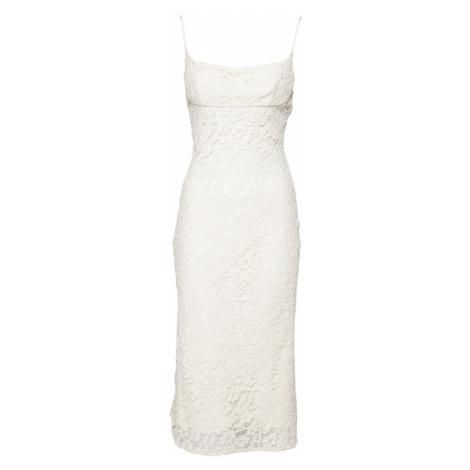 Bardot Kokteilové šaty  krémová