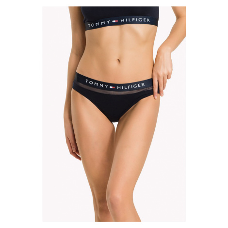 Tommy Hilfiger tmavo modré nohavičky Bikini Feb Fashion