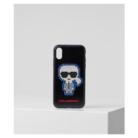 Obal Na Telefon Karl Lagerfeld Pixel Karl Xs - Čierna