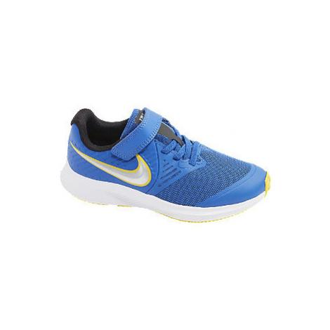 Modré tenisky na suchý zips Nike Star Runner 2