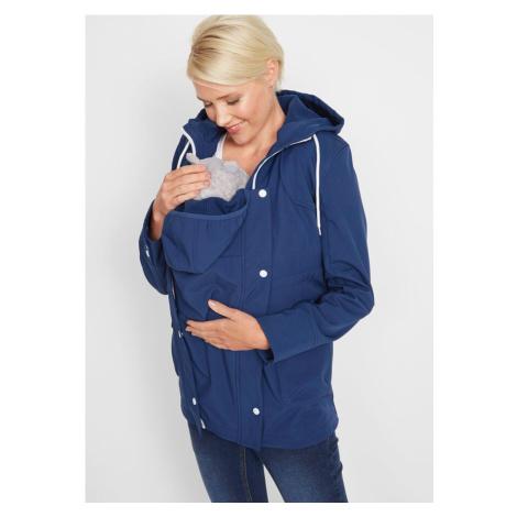 Bunda na nosenie/materská bunda softshell bonprix