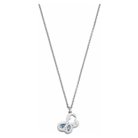 Morellato Oceľový náhrdelník s motýľom Allegra SAKR01 (retiazka, prívesok)
