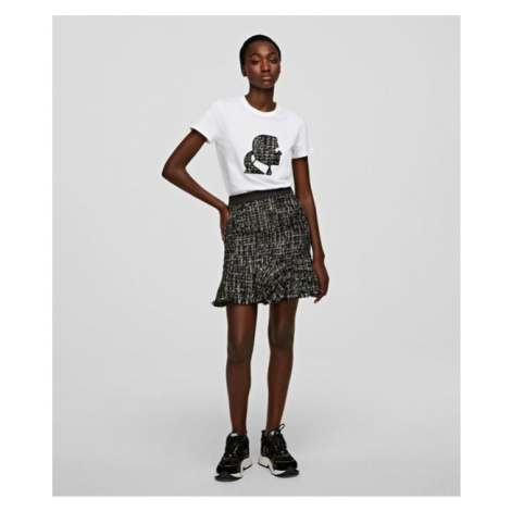 Sukňa Karl Lagerfeld Sparkle Boucle Skirt