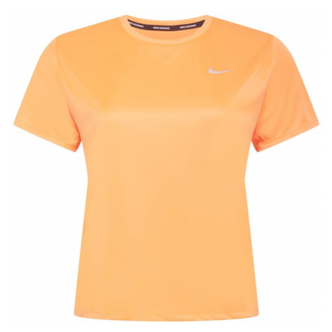 NIKE Funkčné tričko 'Miler'  koralová / biela