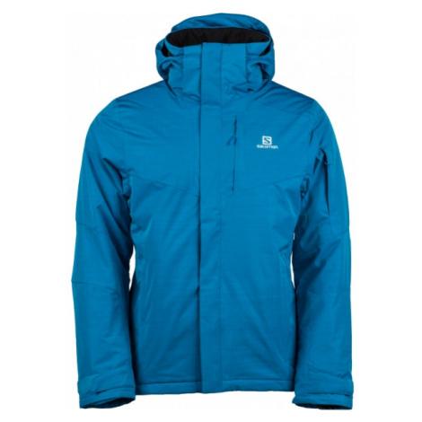 Salomon STORMSPOTTER JKT M modrá - Pánska zimná bunda