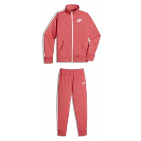 Nike TRK SUIT TRICOT G ružová - Dievčenská súprava
