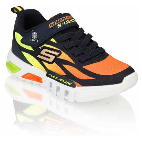 Skechers FLEX-GLOW oranžová