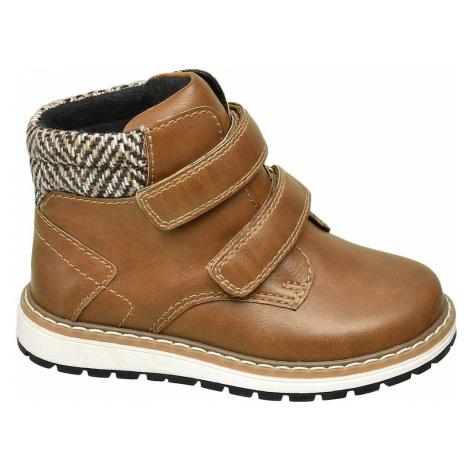 Bobbi-Shoes - Hnedá členková obuv Bobbi Shoes