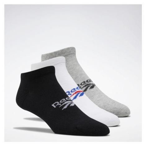 Reebok Cl Fo Low Cut Sock 3P čierna