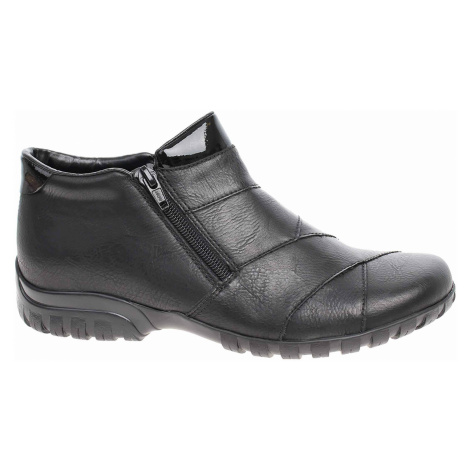 Dámská kotníková obuv Rieker L4673-01 schwarz L4673-01