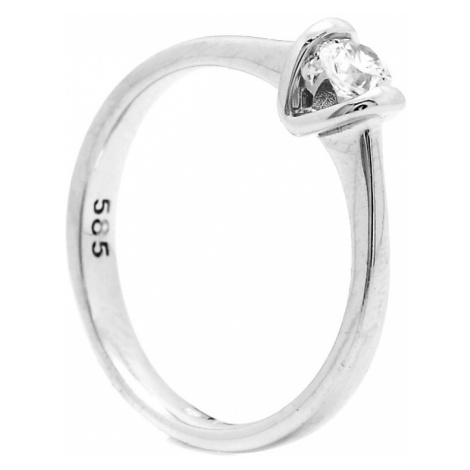 Zlatý zásnubný prsteň CASSIAH