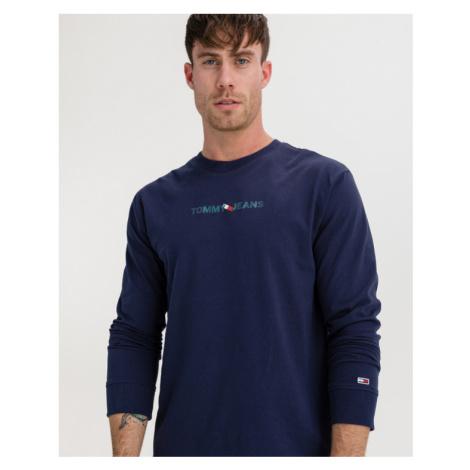 Tommy Jeans Vertical Logo Tričko Modrá Tommy Hilfiger