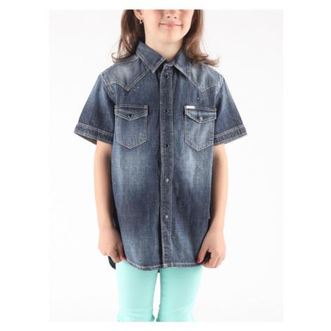 Clori Košile dětská Diesel Modrá