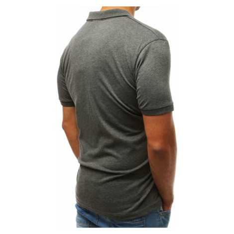 Men's polo shirt anthracite PX0193 DStreet