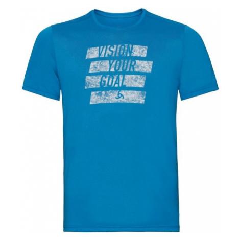 Odlo T-SHIRT S/S CREW NECK MILLENNIUM ELEMENT modrá - Pánske tričko