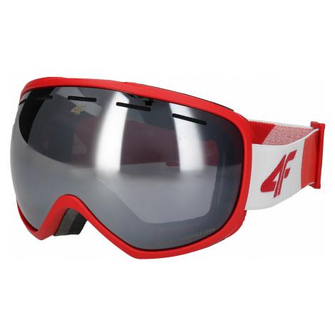 Pánske lyžiarske okuliare GGM250 – červená 4F