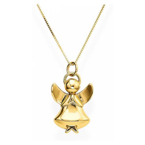 Amen Originálne strieborný náhrdelník Angels A1G (retiazka, prívesok)