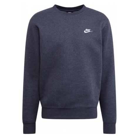 Nike Sportswear Mikina 'Sportswear Club'  sivá