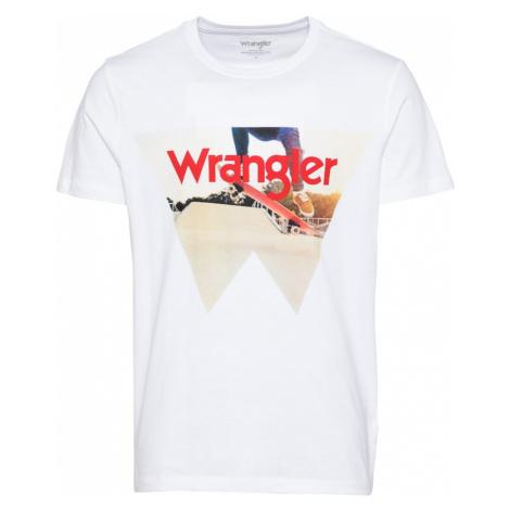 WRANGLER Tričko  biela