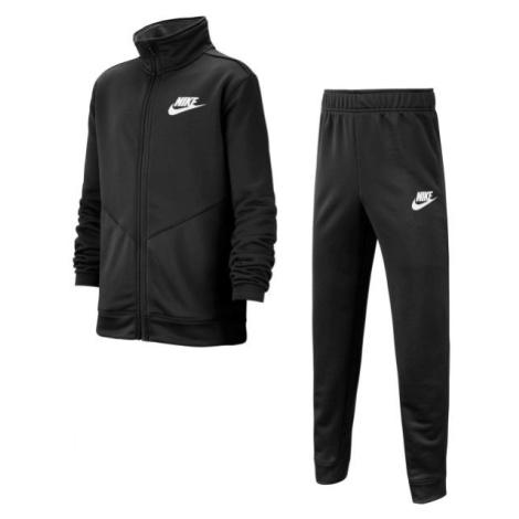 Nike NSW CORE TRK STE PLY FUTURA B čierna - Chlapčenská športová súprava
