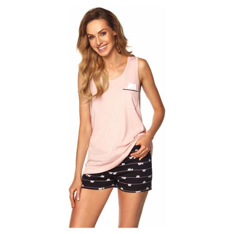 Dámske pyžamo Rossli SAL-PY-1165 II Pink Růžová