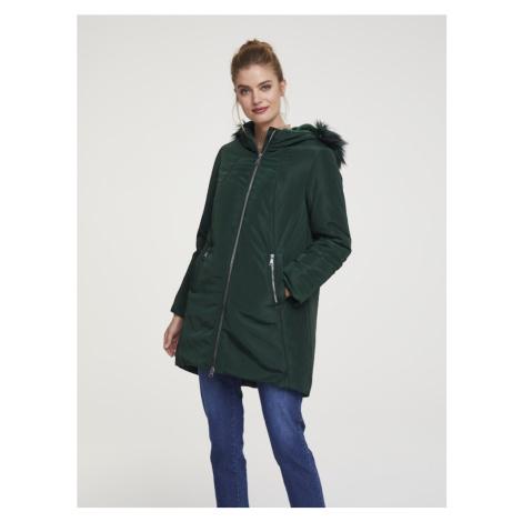 heine Zimná bunda  tmavozelená