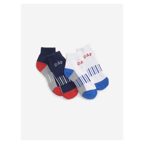 Ponožky 2 páry dětské GAP Modrá