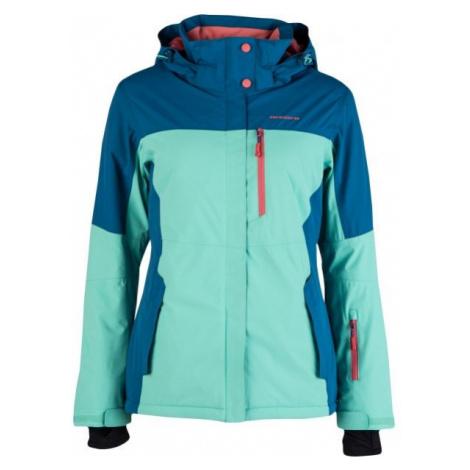 Arcore NOELY zelená - Dámska lyžiarska bunda