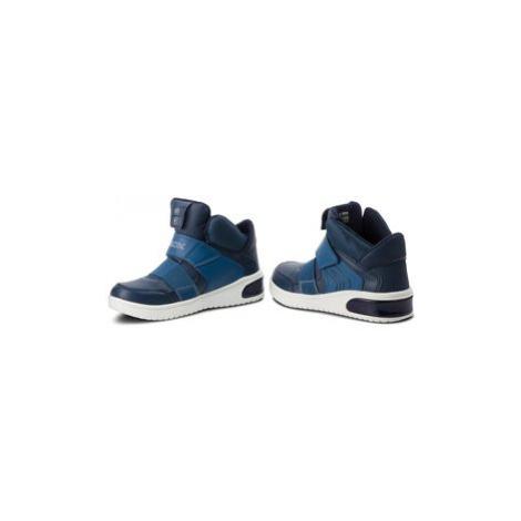 Geox Sneakersy J Xled B. A J847QA 05411 C4002 D Tmavomodrá
