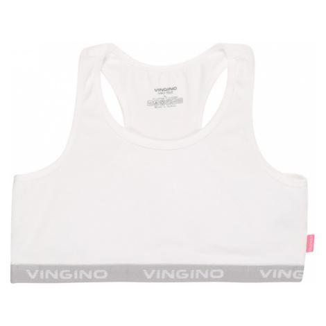 VINGINO Podprsenka 'Racer Girls'  biela